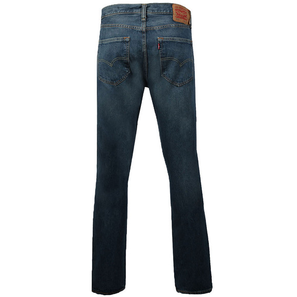 Levi's Mens Blue 501 Tapered Jean main image