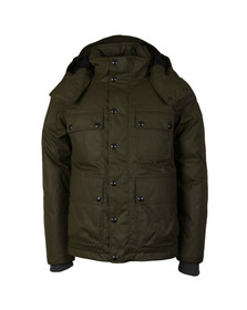 Belstaff Mens Brown Trialmaster Down Parka