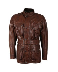 Belstaff Mens Brown Panther 4 Pocket Leather Jacket