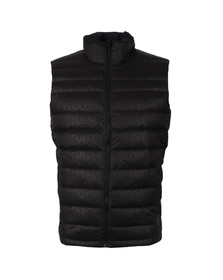 Calvin Klein Mens Grey Packable Down Gilet