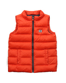 Armani Junior  Boys Orange 6X4Q01 Gilet