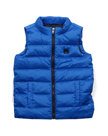 Armani Junior  Boys Blue 6X4Q01 Gilet