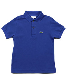 Lacoste Boys Blue Lacoste L1812 Plain Polo