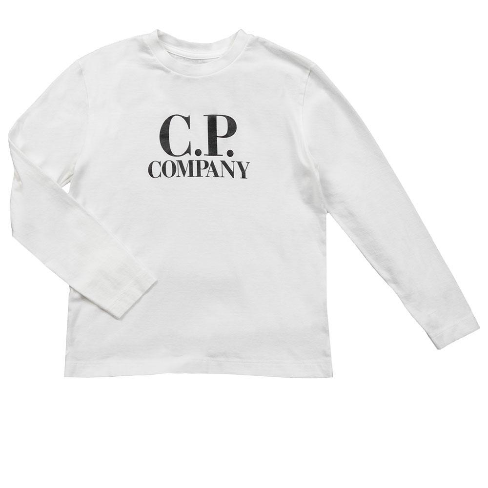5c7438fba886 C.P. Company Undersixteen Printed Goggle Long Sleeve T Shirt ...