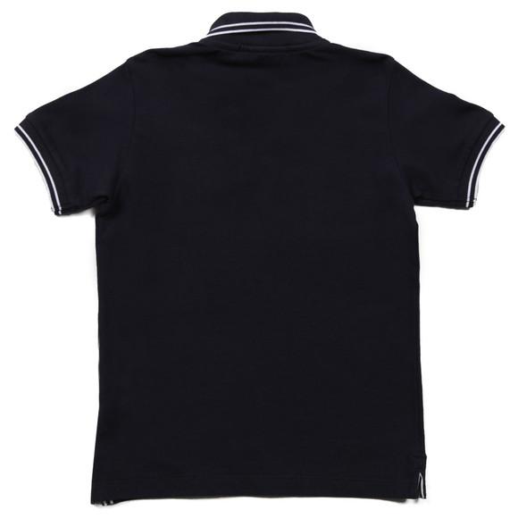 Stone Island Junior  Boys Blue Boys Tipped Polo Shirt main image