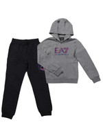 Boys Large Logo Hooded Tracksuit
