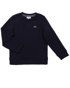 Lacoste Boys Blue Boys SJ4842 Crew Neck Sweatshirt