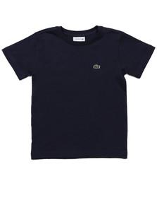 Lacoste Boys Blue Lacoste Boys TJ3821 Crew Neck T-Shirt