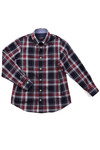 Paul & Shark Cadets Boys Red Check Shirt