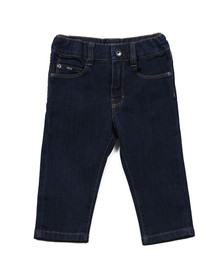 Boss Boys Blue Baby J04253 Regular Jean
