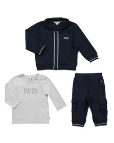 Boss Boys Blue Baby J98160 Track Suit