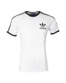 Adidas Originals Mens White California SS Tee