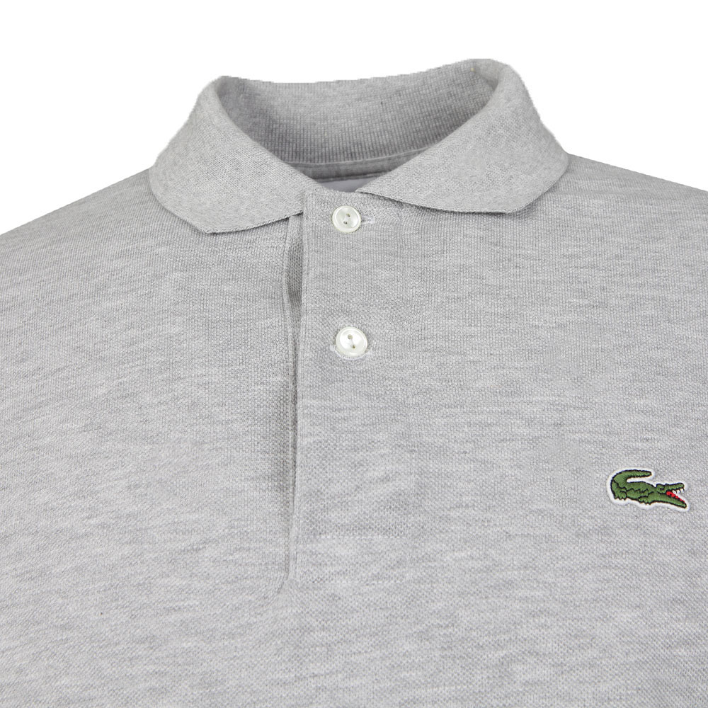 L1313 Argent Chine Long Sleeve Polo main image