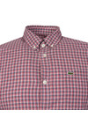 Lacoste Mens Red CH9906 LS Slim Shirt