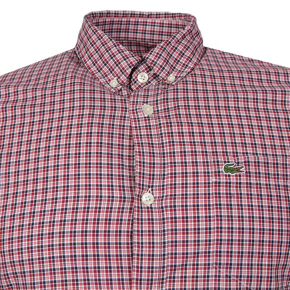 Lacoste Mens Red CH9906 LS Slim Shirt main image