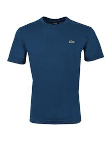 Lacoste Sport Mens Blue TH7618 Plain T-Shirt