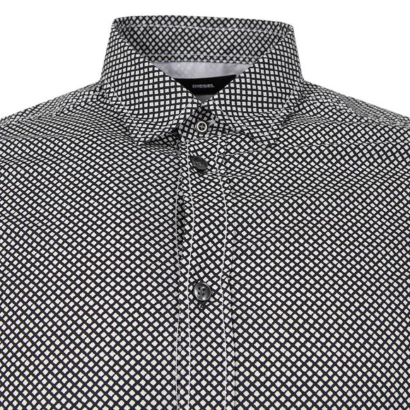 Diesel Mens Black Moon Shirt main image