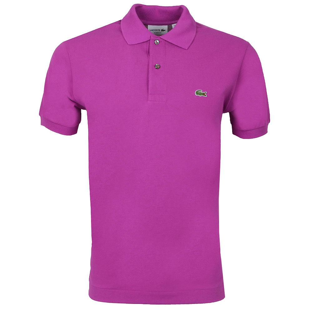 Pink Pale Diseño Lacoste Polo L1212 wxCTF1Z