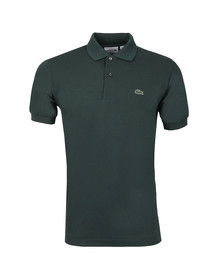 Lacoste Mens Green L1212 Varech Plain Polo Shirt