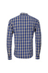 Scotch & Soda Mens Blue Shirt In Crispy Poplin