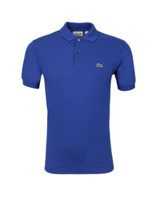 Lacoste Mens Blue L1212 Paquebot Plain Polo Shirt