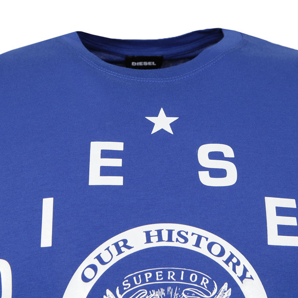 Diesel Mens Blue Diego HE T Shirt main image