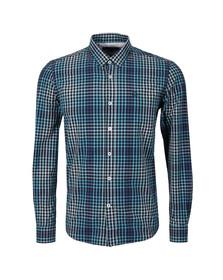 Duck & Cover Mens Blue L/S Myrtle Shirt