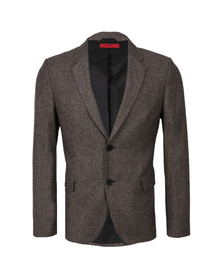 Hugo Mens Brown Arelto Wool Blazer