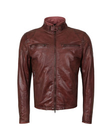 Matchless Mens Red Osborne Leather Blouson