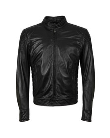 Matchless Mens Black Model X  Reloaded Leather Blouson