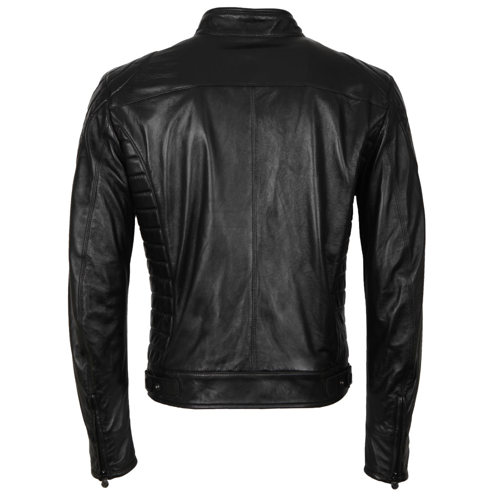 Model X  Reloaded Leather Blouson main image