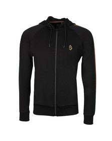 Luke Mens Black Dalgliesh Full Zip Sweat