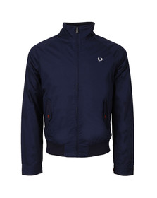 Fred Perry Mens Blue Ealing Bomber Jacket