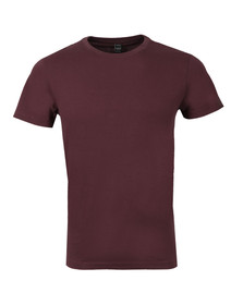 Replay Mens Red M3039S Plain Tee