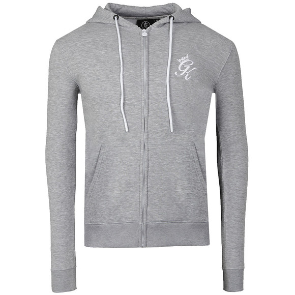Gym King Mens Grey Core Tracksuit Top main image