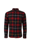 Edwin Mens Red Labour Flanel Shirt