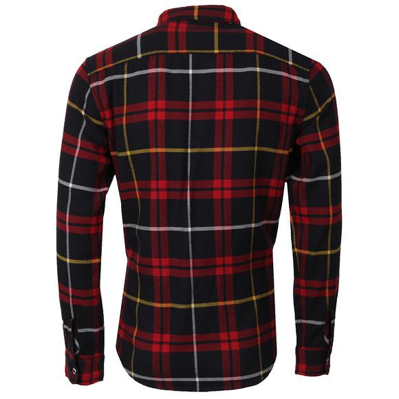 Edwin Mens Red Labour Flanel Shirt main image