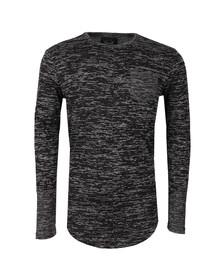 Project X Paris Mens Black Pull Long Sleeve T Shirt