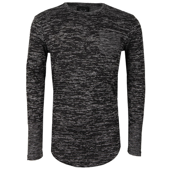 Project X Paris Mens Black Pull Long Sleeve T Shirt main image
