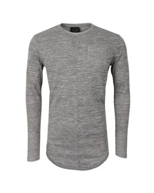 Project X Paris Mens Grey Pull Long Sleeve T Shirt