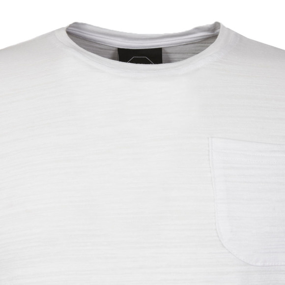 Project X Paris Mens White Pleated Sleeve T Shirt main image