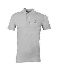 Psycho Bunny Mens Grey Classic Polo Shirt