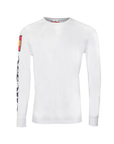 Ellesse Mens White Pericoli Long Sleeve T Shirt