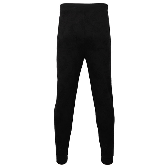 Pretty Green Mens Black Midhurst Jacquard Jogger main image