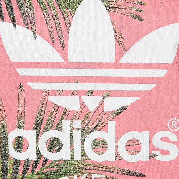 Adidas Originals Womens White BF Trefoil T Shirt main image