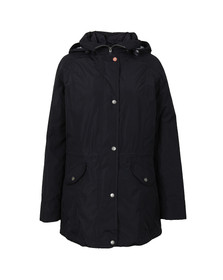Barbour Lifestyle Womens Blue Winter Trevose Jacket