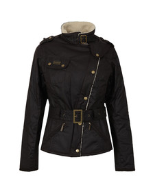 Barbour International Womens Brown Matlock Wax Jacket