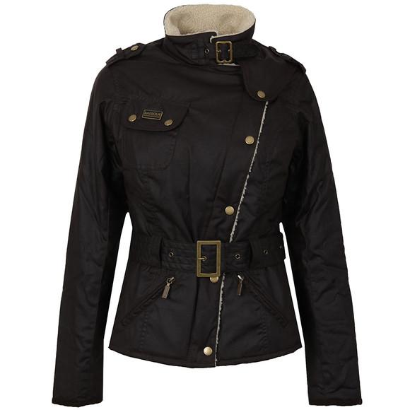 Barbour International Womens Brown Matlock Wax Jacket main image
