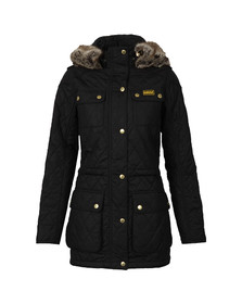 Barbour International Womens Black Enduro Quilt Jacket