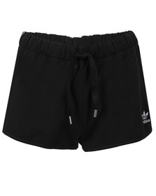 Adidas Originals Womens Black Slim Shorts